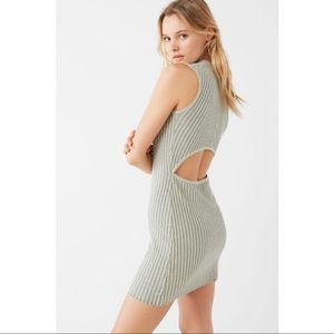 UO Bodycon Ribbed Sweater Dress